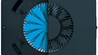Large-diameter fan
