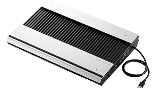 Air conditioner for notebook PC which is equipped with bomb blast mode, and is reliable even at the time of hard use such as games