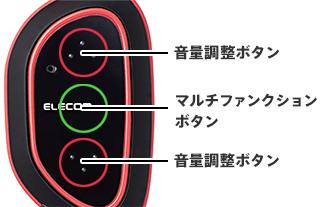 音量調整ボタン・マルチファンクションボタン