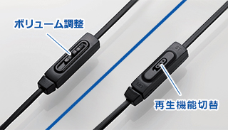 Volume adjustment / reproduction function change over stereo ⇔ monaural recording