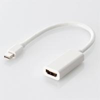 Mini DisplayPort-HDMI変換アダプタ(AD-MDPHDMIWH)