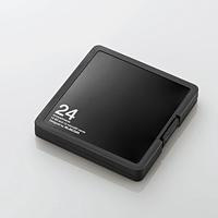 SD/microSDカードケース(プラスチックタイプ)(CMC-SDCPP24BK)
