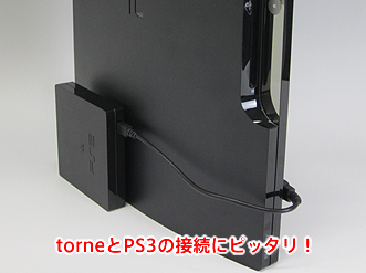 It is good to connection of torne and PS3!
