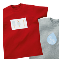 Iron transfer paper