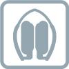 Folding ear pad