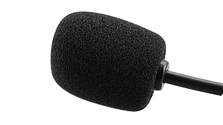 We adopt noise reduction high efficiency Microphone