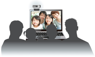 Video can chat without headset