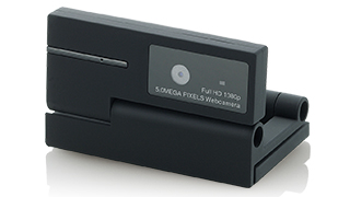 Web camera which can enjoy clear video in correspondence with up to 2,592*1,944 pixel