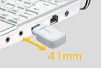 Surprising compact design