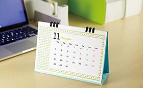 It is calendar of desk type