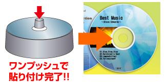 cd dvdラベル作成キット edt dvdkt4